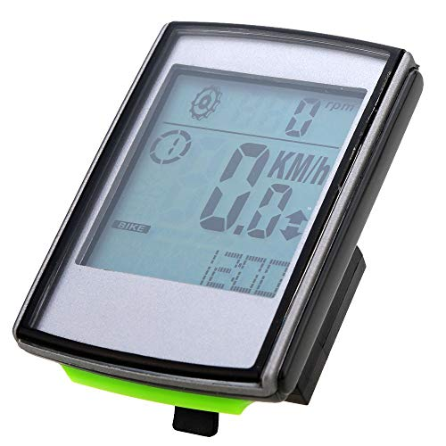 Bicicleta con cuentakilómetros La cadencia del ritmo cardíaco velocidad de tres-en-uno inalámbrica...