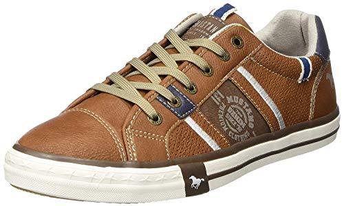 MUSTANG Herren 4072-308 Slip On Sneaker, Braun (Cognac 307), 42 EU