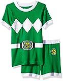Power Rangers Boys' Toddler Green Mighty Morphin Pajama...