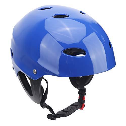 Equipo de protección, 11 orificios de ventilación Casco de seguridad resistente al desgaste, para deportes acuáticos Escalada en roca Rescate en el agua Surf