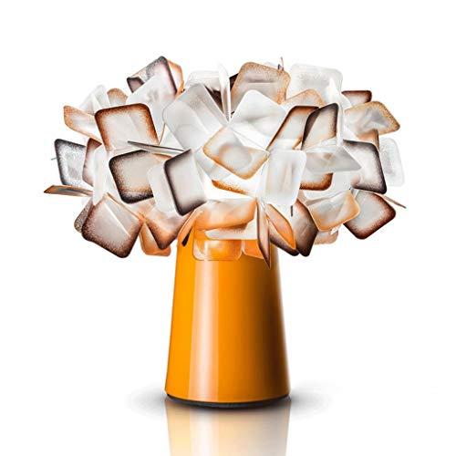 Lámparas de Mesa Naranja 11' Luces del árbol Bonsai iluminado mesa dormitorio cálido de noche creativo de la lámpara en forma de flor de decoración de la boda - Plantas artificiales Decoración Luz