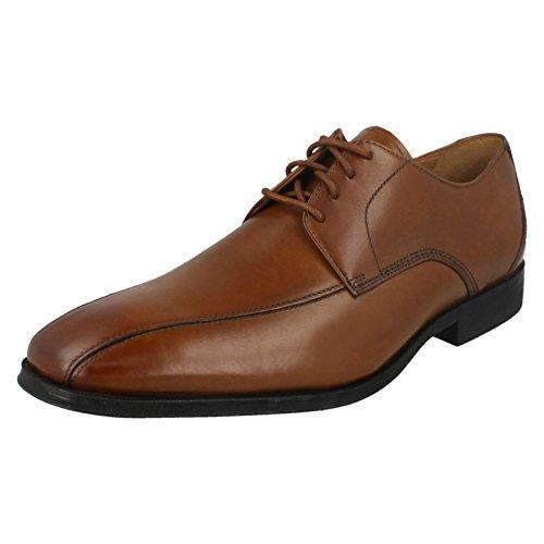 Clarks Gilman Mode, Zapatos de Cordones Derby para Hombre, Marrón