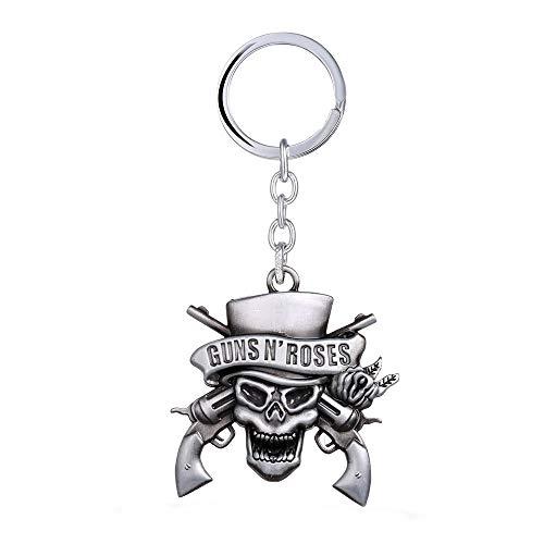 Generico Guns N  Roses Portachiavi in Metallo Logo Album Rockin  Roots of Guns N  Roses