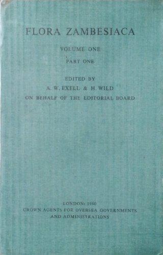 Flora Zambesiaca Volume 1, Part 1: Introduction, Cycadaceae, Podocarpaceae, Cupressaceae, Ranunculaceae-Polygalaceae