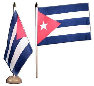 Flaggenfritze® Tischflagge Kuba - 15 x 22 cm