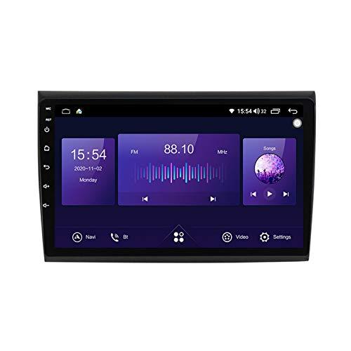 ADMLZQQ para Fiat Bravo 2007-2012 Android Car Radio Radio Double DIN GPS Navi Receptor de Video con Pantalla táctil de 10 Pulgadas Reproductor Multimedia con 4G DSP Carplay,7862,6+128G