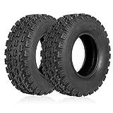 "Weize Set of 2 ATV Tires 20X10-9, 4 Ply, Sport Rear UTV Tire 20-10-9 20x10x9, Fit All 9"" Rim"