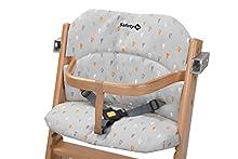 Safety 1st Cojín de asiento original, adecuado para la trona Safety 1st Timba, cómodo asiento, fijación rápida y fácil, lavable a máquina a 30 °C, ofrece mucha comodidad, color gris cálido