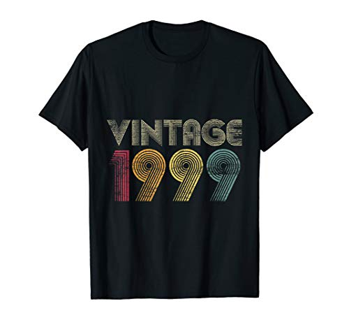 21st Birthday Gifts Year Old - Vintage 1999 T-Shirt