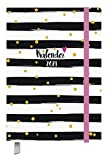 Kalenderbuch Campus Glamour - Kalender 2021 - Oktober 2020 bis März 2022 - Korsch-Verlag - 18-Monats-Kalender - Taschenkalender A5 mit Lesebändchen und Verschlußgummi - 12,8 cm x 19 cm