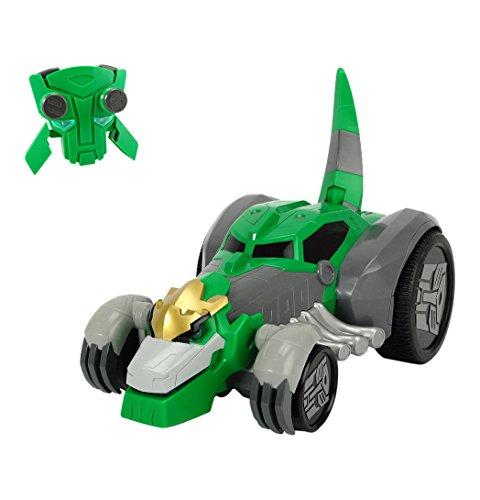 Dickie Toys 203116000 - RC Rumble Grimlock, funkferngesteuertes Transformers Fahrzeug inklusive Batterien, 29,5 cm