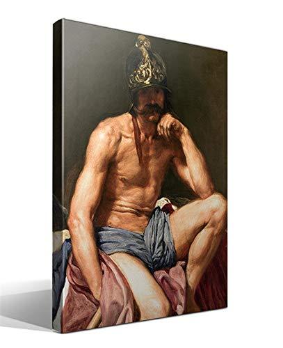 Cuadro Canvas El Dios Marte de Diego Rodriguez de Silva y Velazquez