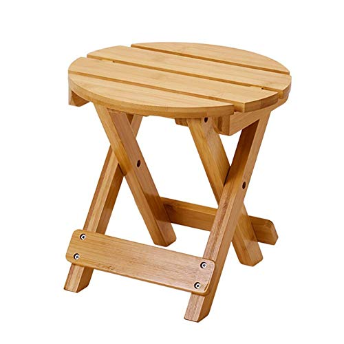 WZF Sillas de Camping Banco pequeño Plegable Taburete portátil para baño Silla Plegable para Exterior Caballo pequeño casero Silla Simple para niños