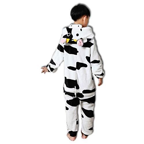 Black Sugar Mono Kigurimi Pijama Pijama de cebra, búho, vaca, unicornio, jirafa, tigre, niño,...