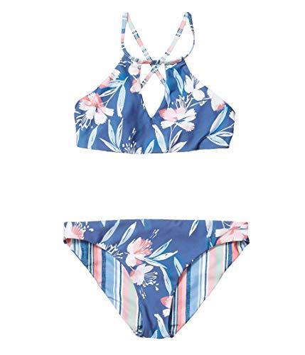 La Blanca Women's Island Goddess Multi Strap Cross Back One Piece Swimsuit, Wine, 6