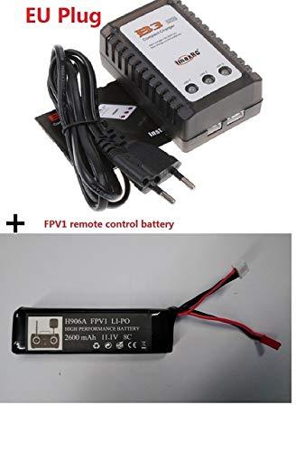 Batería para Hub-san X4 PRO Sender / H109S / H501S / H502S / H301S mando a distancia F-P-V1 H906A, 2600 mAh, 11,1 V, batería de 6 horas de diversión para niños