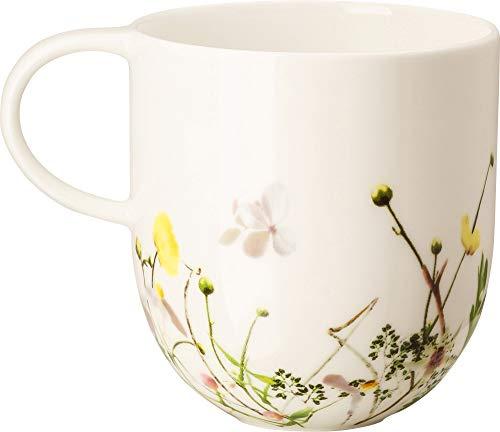 Rosenthal 10530-405101-15505 - Brillance- Fleurs Sauvages - Becher mit Henkel/Henkelbecher/Kaffeebecher - 0,28 l - Porzellan