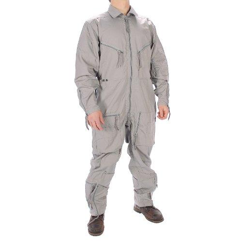 Mil-Tec BW Pilot Suit Olive New - Grey, 48