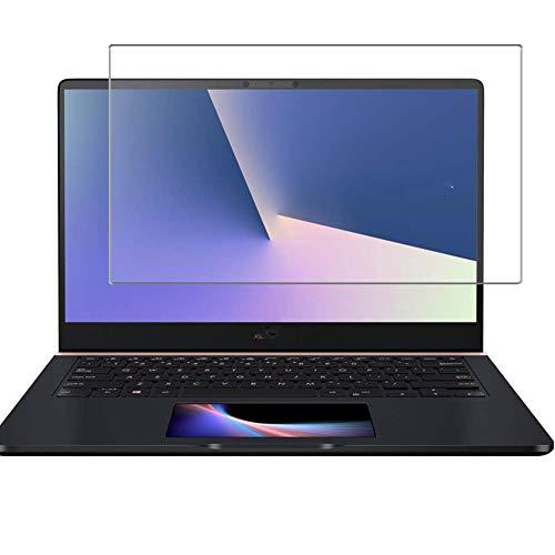 Vaxson Anti Luce Blu Vetro Temperato Pellicola Protettiva, compatibile con Asus ZenBook Pro 14 UX480FD [Coprire Solo l'area Attiva] 9H Screen Protector Film