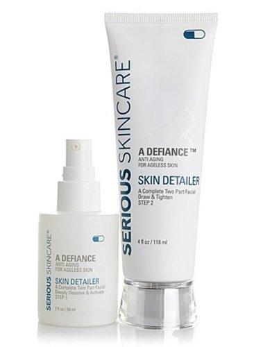 Serious Skincare Skin Detailer 営業 Complete Brig 日本正規品 2-Part Peel Facial