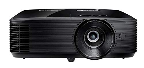 Optoma S334e DLP-Projektor (SVGA, 3800 Lumen, 22.000: 1 Kontrast, HDMI, VGA) Schwarz