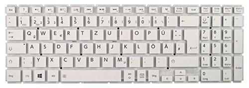 NExpert Orig. QWERTZ Tastatur Toshiba Satellite L50-B-18K L50-B-1HD L50-B-1PW DE Weiss