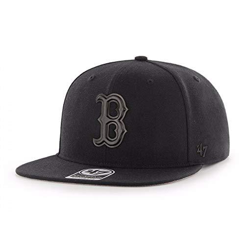 47Brand Boston Red Sox Snapback Cap - Schwarze MLB Baseball Kappe