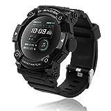 Smartwatch Bluetooth, Reloj Inteligente Impermeable IP67 para Hombre Mujer, Pulsera de Actividad...