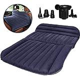 QDH SUVのエアマットレス、厚くされた車のベッドの膨脹可能な家のエアマットレスの携帯用キャンプの屋外のマットレス、群がらせる表面、速いインフレーション 、SUV MPV汎用
