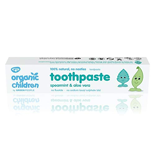 The Green People Company 50 ml Organic Kids Spearmint Toothpaste - 2-Pack