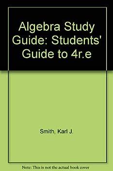 Algebra Study Guide 0534095119 Book Cover