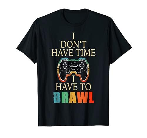 No tengo tiempo que tengo que pelear estrellas de enfrentamiento Camiseta