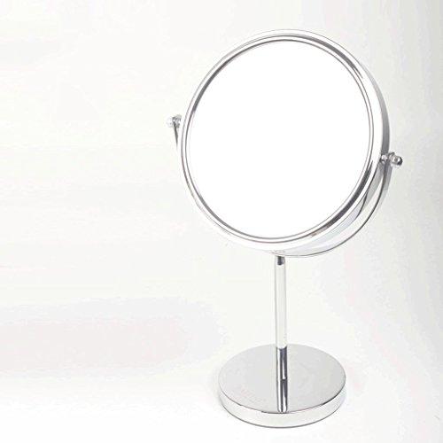 Miroir De Bureau Miroir De Dressage Double Face Grand Miroir De Miroir De Miroir De Miroir De Miroir Princesse Miroir Optionnel à Deux Côtés, Un Miroir Normal, Un Grossissement De 3 Fois Le Miroir Xuan - worth having
