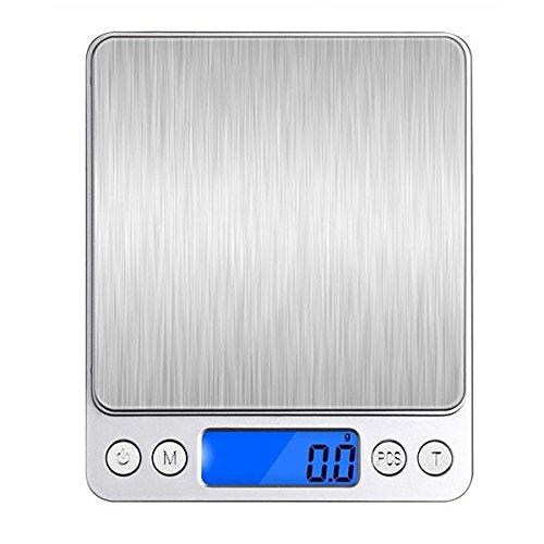 Bazaar Honana HN-MS1 2000g 0.1g Mini Multi-unit Conversie Digitale Elektronische Keukenweegschaal Pocket Sieraden