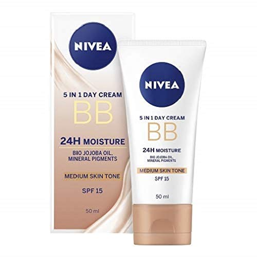 Nivea Diarios Esenciales BB Cream 5 en 1 Beautifying Crema h