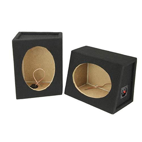 SCOSCHE SE6900 6X9 Car Speaker Enclosure Pair with MDF Carpet
