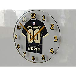 FanPlastic College Football Independents(FBS) - Personalized Wall Clocks - Size 12 X 12 X 2 - The Best A Fan CAN GET !!! (Army)