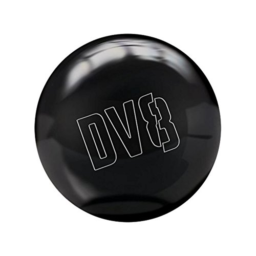 DV8 Just Black Bowling Ball with Free Shoulder Sack (14lbs)