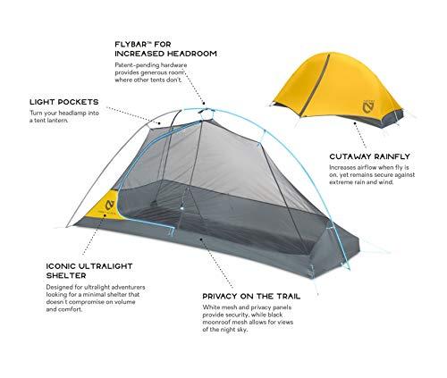Nemo Hornet Elite Ultralight Backpacking Tent, 2 Person
