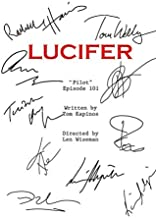 Lucifer Script Notebook: (110 Pages, Lined paper, 6 x 9 size, Soft Glossy Cover)