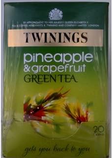 Twinings Pineapple & Grapefruit Green Tea - 4 x 20 Tea Bags