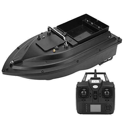 VGEBY Barco de Cebo de Pesca, 100‑240V ABS GPS 500m Control Remoto Barco RC Cebo de Pesca Barco de anidación Barco buscador de Pesca RC(Enchufe de EU.)