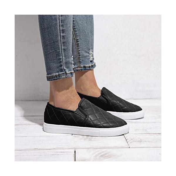 Chebran Women's Loafers Comfortable Casual Walking Sports Flats Fashion Sneakers