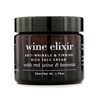 Wine Elixir Crema facial antiarrugas y reafirmante rica 50ml/1.7 oz