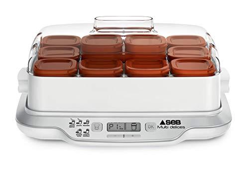 SEB Yaourtire Multi Delices Express Marron 600W 12 Pots...