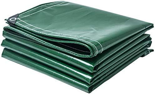 YLCJ Dekzeil in verschillende maten Waterdicht en scheurbestendig PVC beschermhoes voor tuinmeubelen, hout, zwembad, auto dekzeil met oogjes Gewicht 400 g/l, 3 mx 6 m 3mx5m