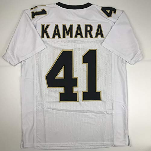 Unsigned Alvin Kamara New Orleans White Custom Stitched Football Jersey Size Men's XL New No Brands/Logos