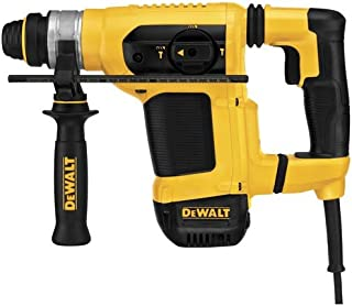 DEWALT D25413K 1-1/8-Inch SDS Rotary Hammer Kit with Shocks and Active Vibration Control