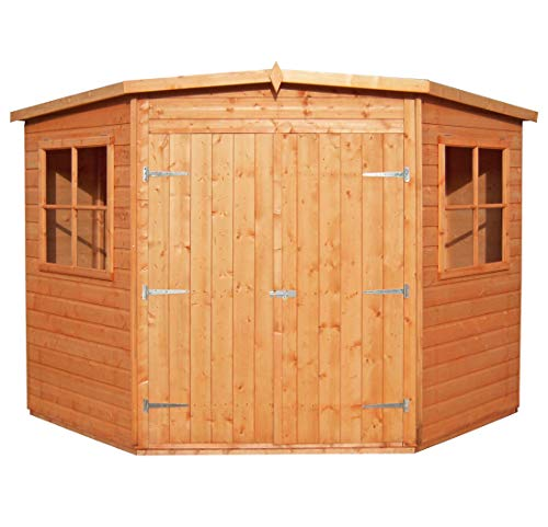 Shire Corner Shed, Brown