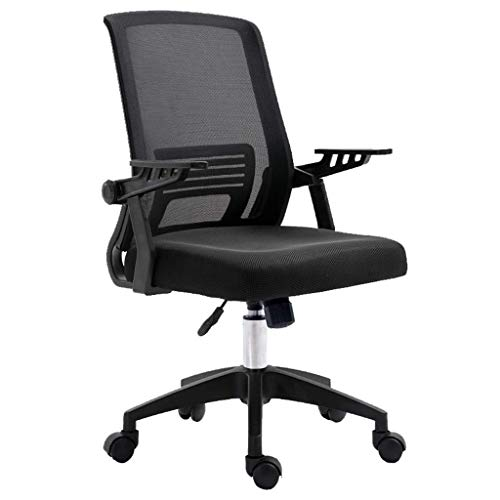 QNN Desk Chair,Swivel Chair Office Swivel Chair Back Lumbar Support Gaming Chairs for Adults Computer Chair with Armrest - 10 Styles and Colors Computer Desk Chairs,2Black